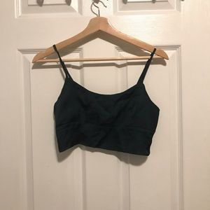 Tops - JAGGER & STONE Dylan Crop Top Green